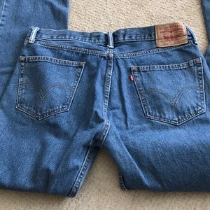 Men's 505 Levi Strauss & Co Jeans